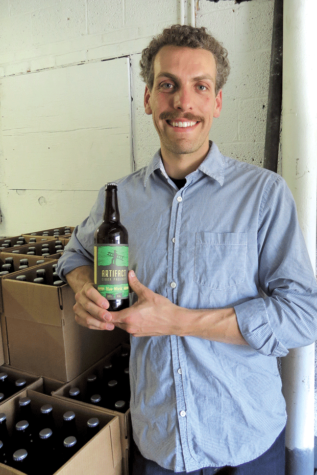 Dave Mazar says Artifact Cider