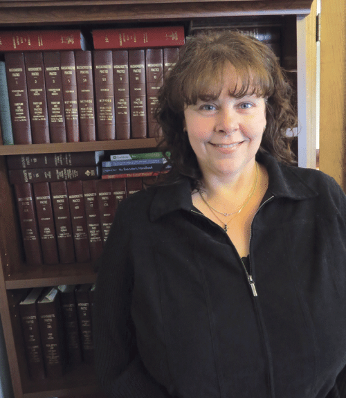 Karen Adamski, a 2014 graduate of WNEU School of Law