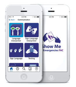 The 'Show Me' app developed by Communi-cateHealth