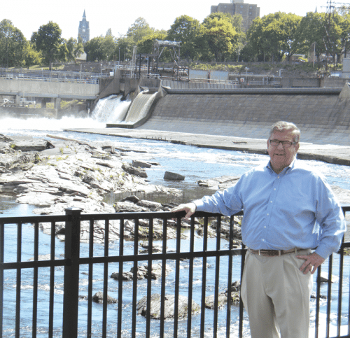 Michael Sullivan says the newly opened Texon Mill Park in
