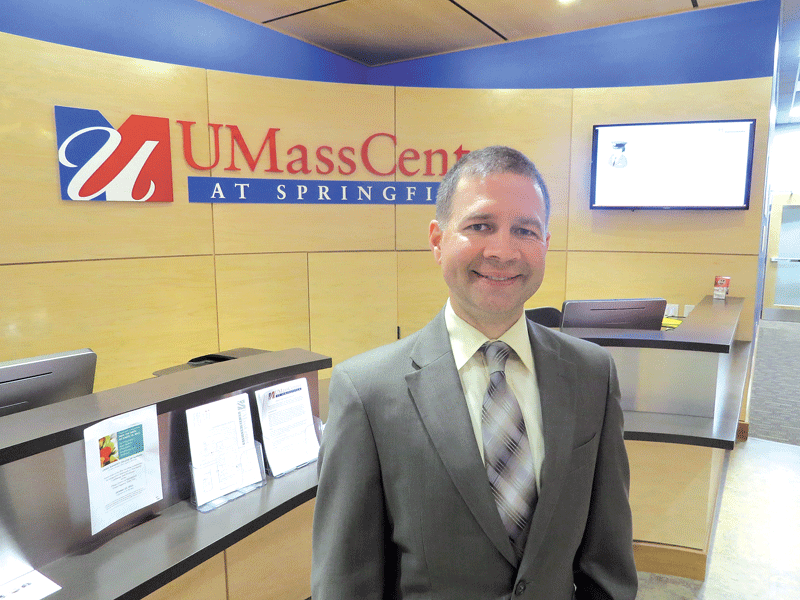 Daniel Montagna says the UMass Center
