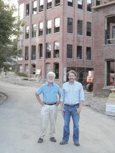 Andy Hogeland (left) and Hugh Daley