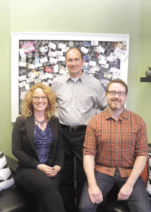 Amy Scott, Eric Belliveau, and Rory Hurlburt