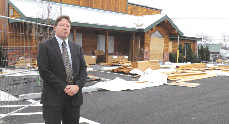 David Nixon says Texas Roadhouse expects to open soon on Route 9