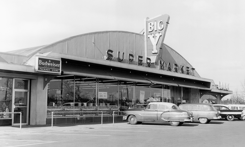 Big Y's second supermarket