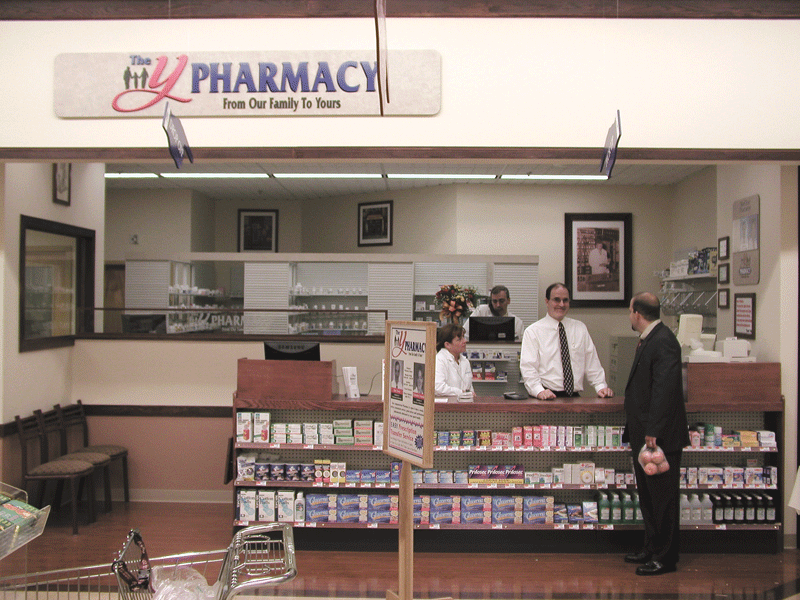 Big Y's expansion into in-store pharmacies