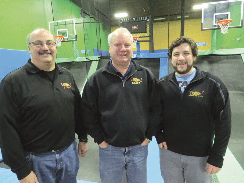 Bill Merrill, center, with fellow managing partners Rob Doty (left) and Greg Morgan