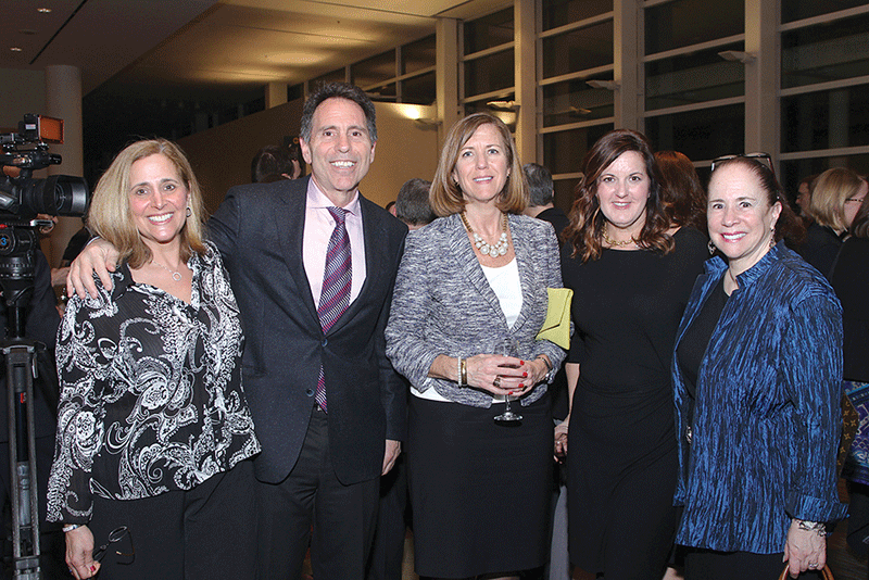 Vincent Maniaci, American International College; Mary Kay Wydra, Greater Springfield Convention & Visitors Bureau; Michelle Goldberg, Pioneer Valley Transit Authority; and Judy Matt, Spirit of Springfield