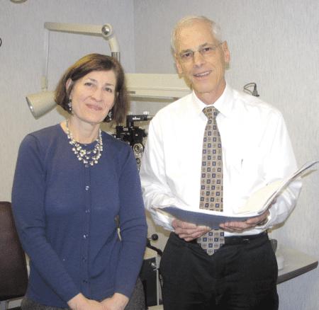Drs. David Momnie and Camille Guzek-Latka