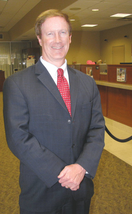 Westfield Bank President and CEO Jim Hagan