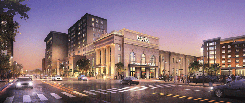 MGM's planned opening in the summer of 2018