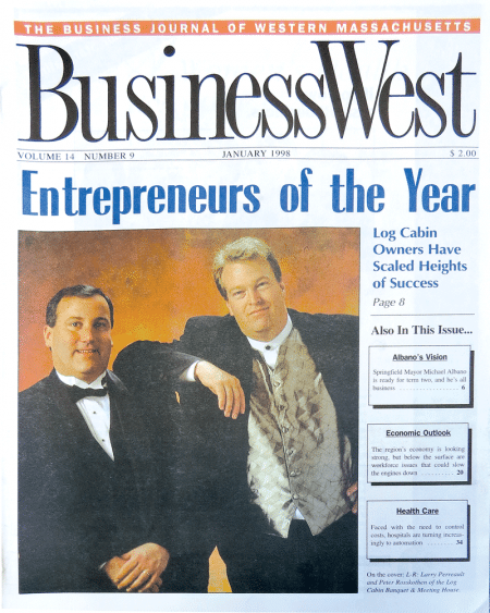 BusinessWest as the magazine's Top Entrepreneurs