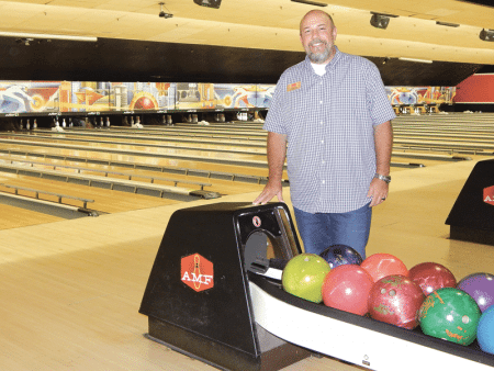Jeff Bennett, general manager of AMF Chicopee Lanes