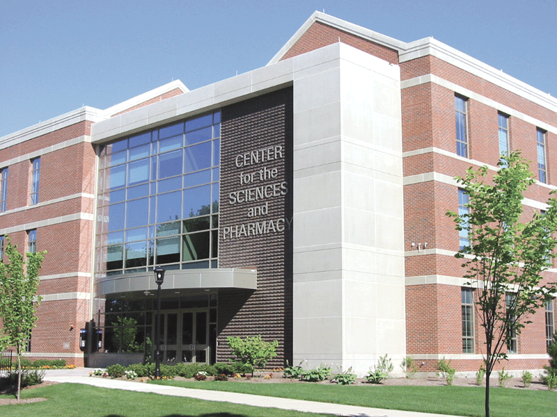 The Center for the Sciences and Pharmacy