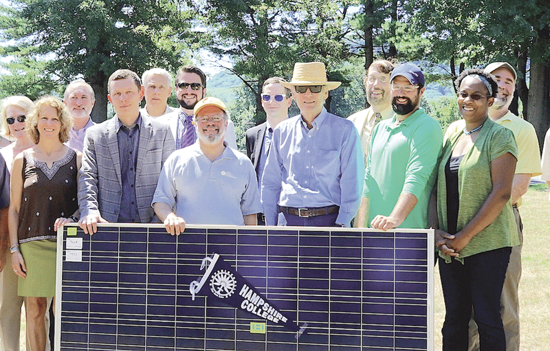 ground-breaking ceremonies for solar installations
