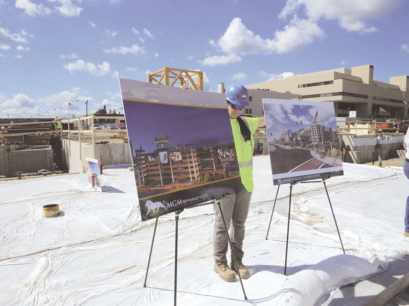 Architects' renderings show how the work in progress will change the Springfield skyline.