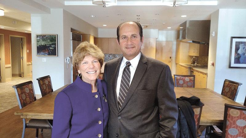 Susan Kline and Stephen Krevalin