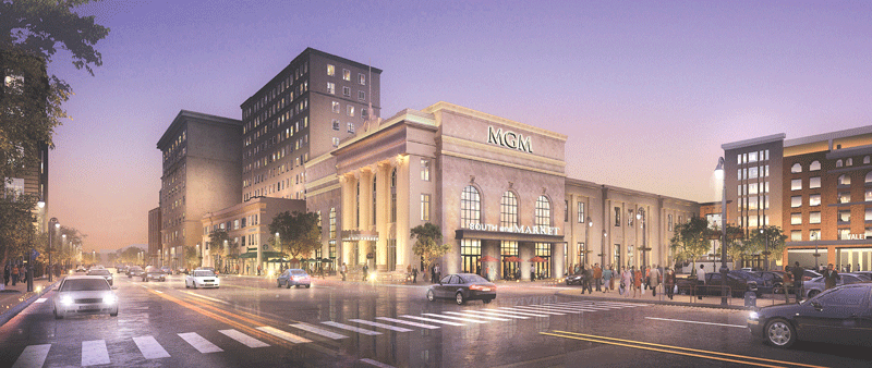 The Mass. Casino Careers Training Institute, which will train workers for MGM Springfield