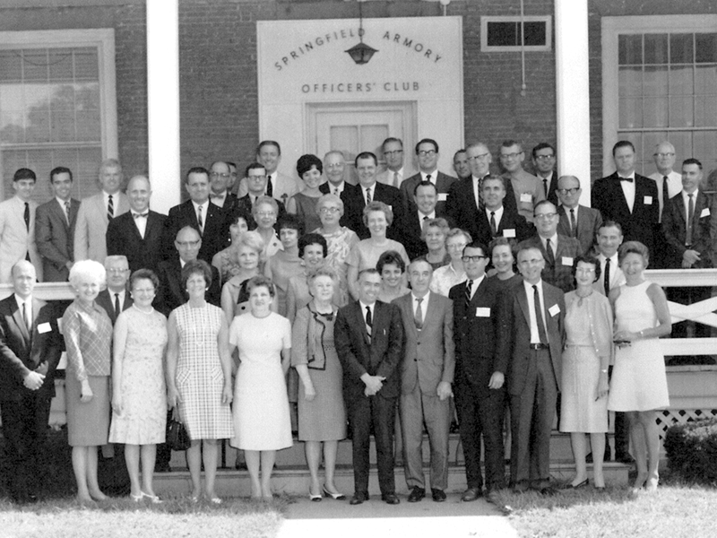 The original faculty and staff at STCC