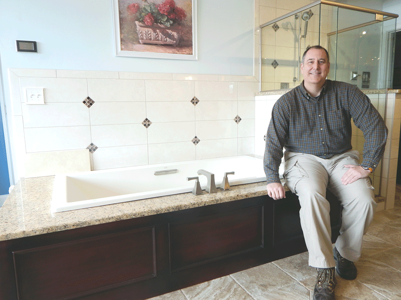 Craig O'Connor says bathroom makeovers by Affordable Bath