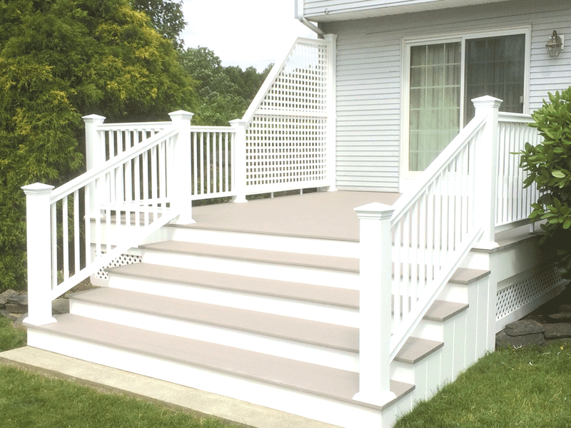 Decks are among the many home-exterior projects tackled by Phil Beaulieu & Sons.