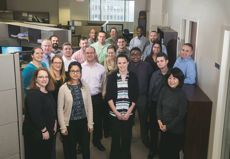 A wave of new employees over the past decade