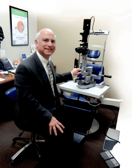 Dr. John Papale says most patients who undergo cataract-removal surgery see a more than 95% restoration of vision.