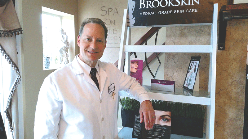 "Dr. Glen Brooks says he was ""awed"" the first time he used the Crisalix technology."