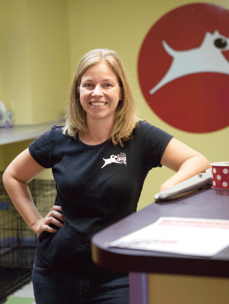 Good Dog Spot Managing Director Elizabeth Staples