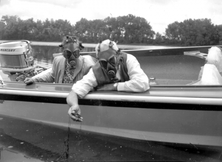 Dr. Joseph Davidson brought attention to the Connecticut River filth levels in 1959.