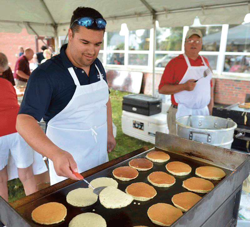 The Greater Westfield Chamber of Commerce held its 40th annual pancake breakfast