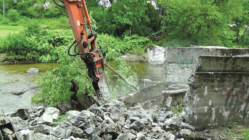 A deadbeat dam in Groton, Vt.