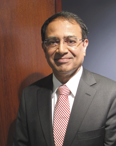 UMass Amherst Chancellor Kumble Subbaswamy