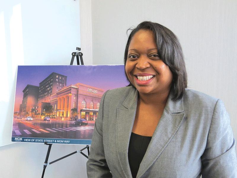 Wanda Gispert, regional vice president of Talent & Workforce Development for MGM Resorts International.