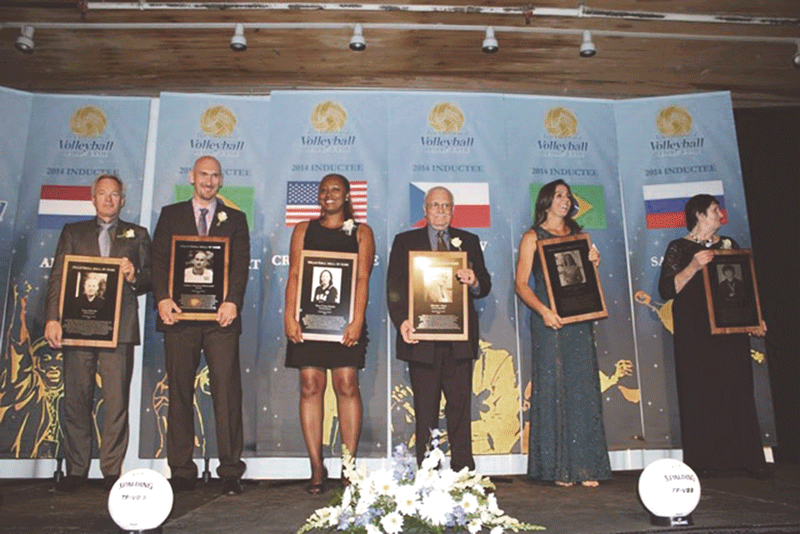 The International Volleyball Hall of Fame's induction ceremonies