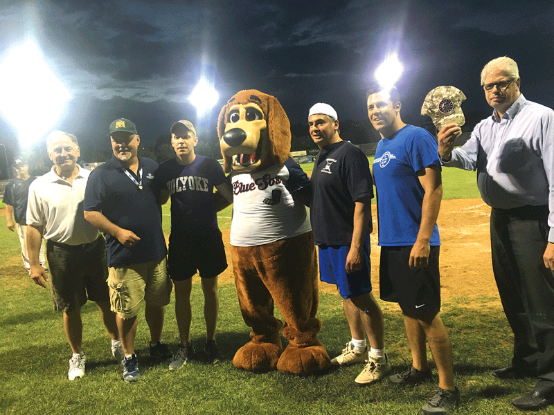 Valley Blue Sox hosted the Running of the Mayors charity