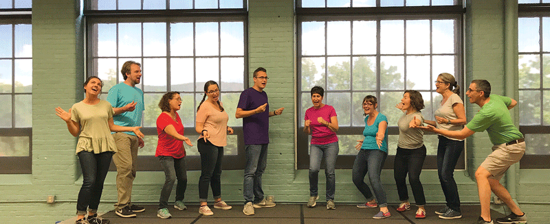 Local improv company Happier Valley Comedy has moved its interactive Happier FAMILY Comedy Show to the Eric Carle Museum of Picture Book Art in Amherst. The move places the family-friendly comedy show in a prime location packed full of kid-centric creativity and imagination.The Happier FAMILY Comedy Show is held the third Saturday of every month.