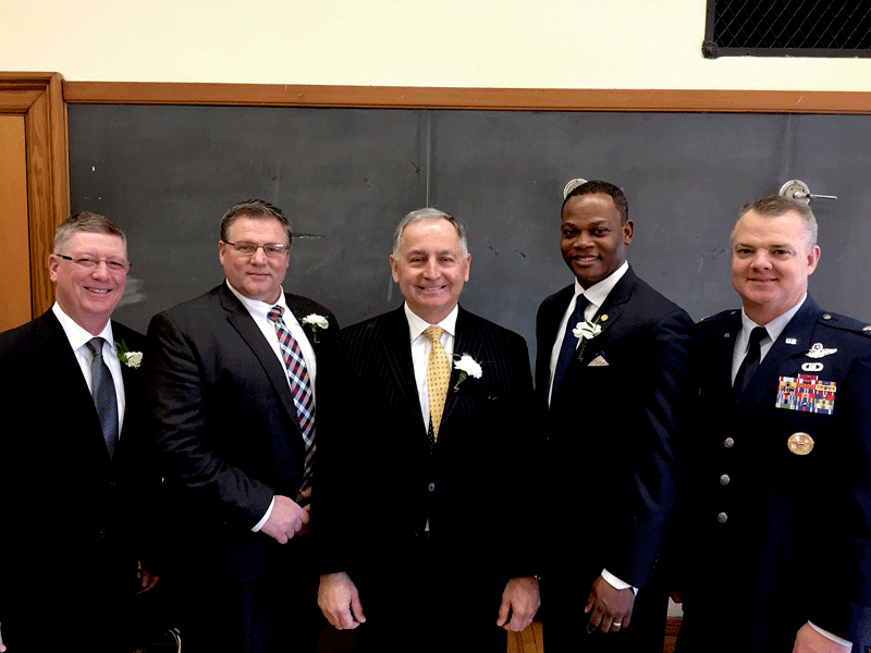 At last week's inauguration of Chicopee officials