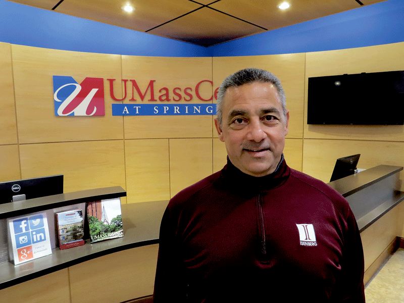 Vinnie Daboul says alums of UMass Amherst should be finding ways to support other alums.