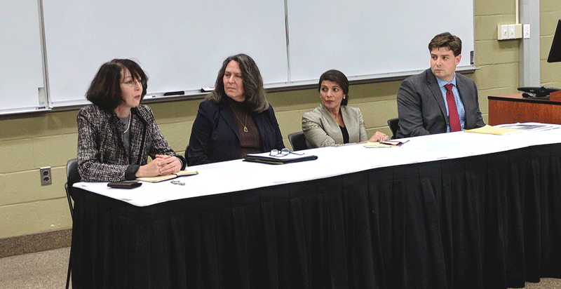 recent panel discussion at WNEU School of Law