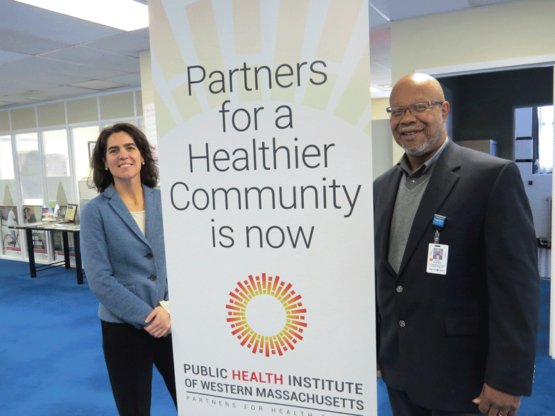 Jessica Collins and Frank Robinson say the organization's mission to create a healthier community hasn't changed, but is simply being honed and refocused.
