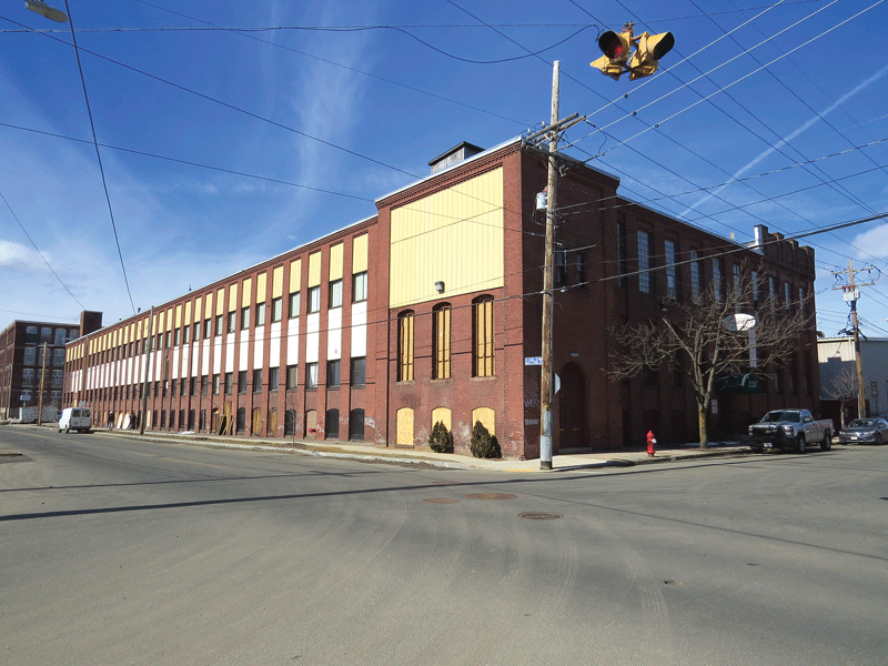 Green Thumb Industries will soon begin operating a marijuana-cultivation operation in this mill building at 28 Appleton St. And it will likely be the first of several such operations in Holyoke.
