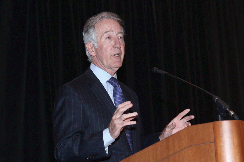 Neal gives his annual federal outlook