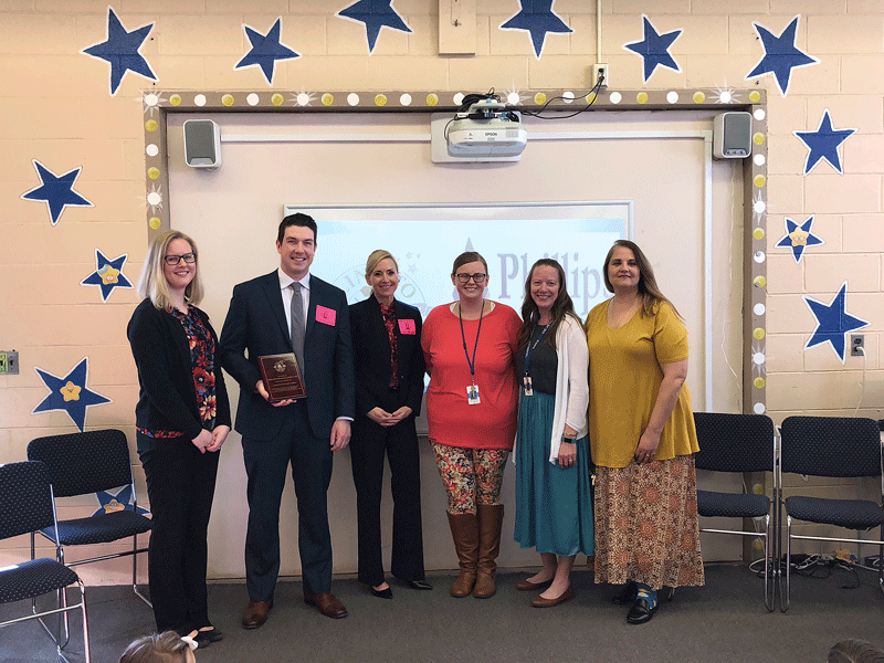 Phillips Insurance Agency Inc. is sponsoring the Anna E. Barry Elementary School in Chicopee