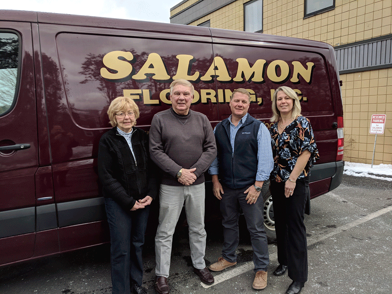 From left, Carol Salomon, Mitch Salomon, Mark Salomon, and Karen Salomon Shouse