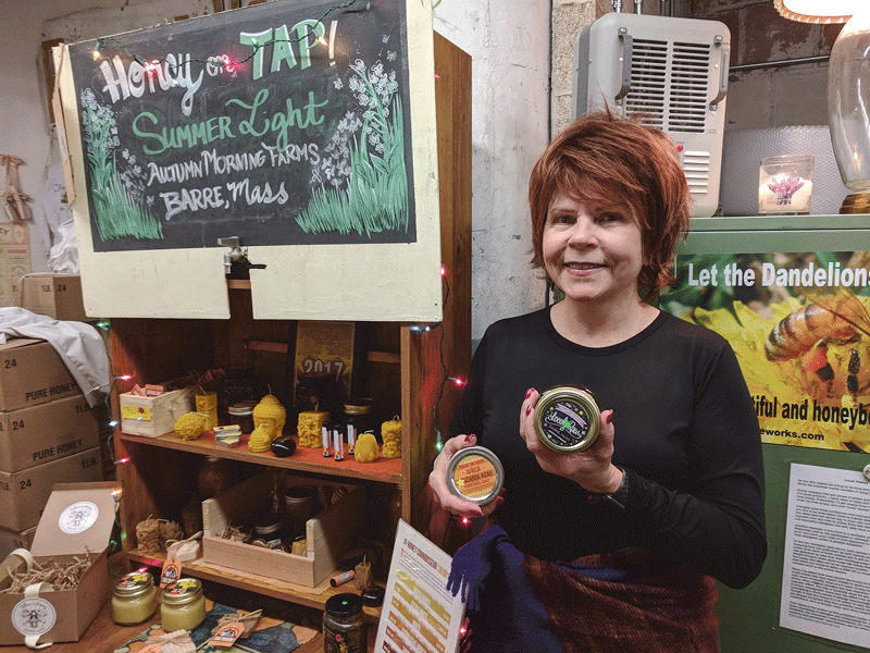 Mary Winzer Canning, owner of Follow the Honey.