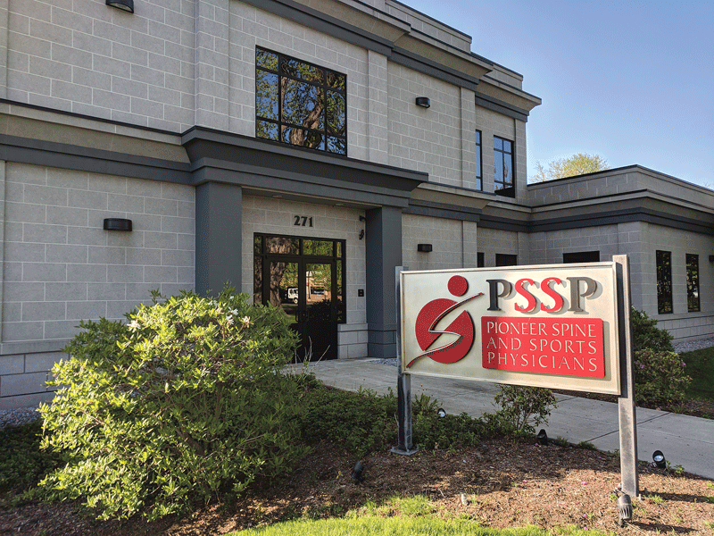 PSSP's West Springfield location is one of seven offices spanning the Pioneer Valley from East Longmeadow to Brattleboro.