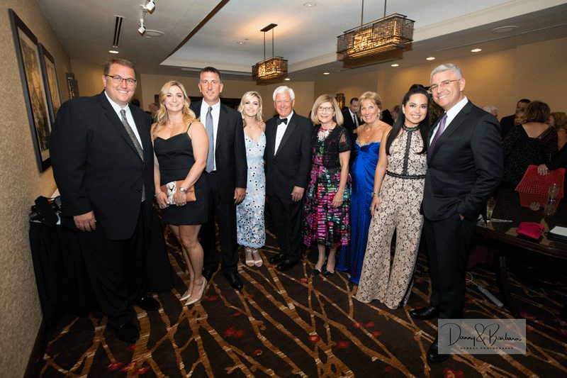 Gala sponsor Sarat Ford Lincoln with special guest judge Lindsay Arnold (fourth from left) and Bay Path President Carol Leary (fourth from right).