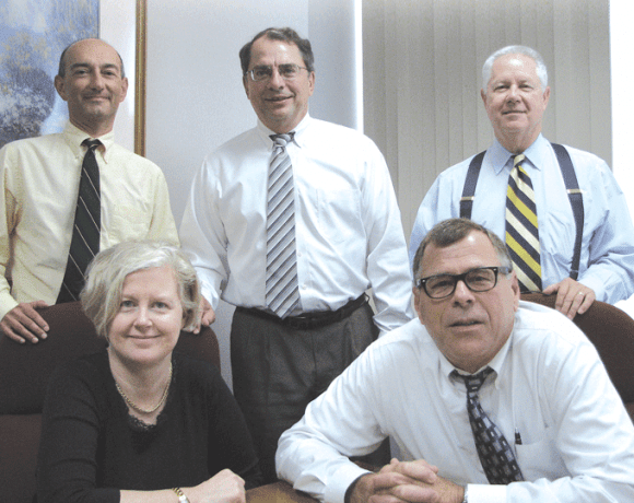From left, Louis Moore, Tracie Kester, Cal Annino, Mark Draper, and Trant Campbell.