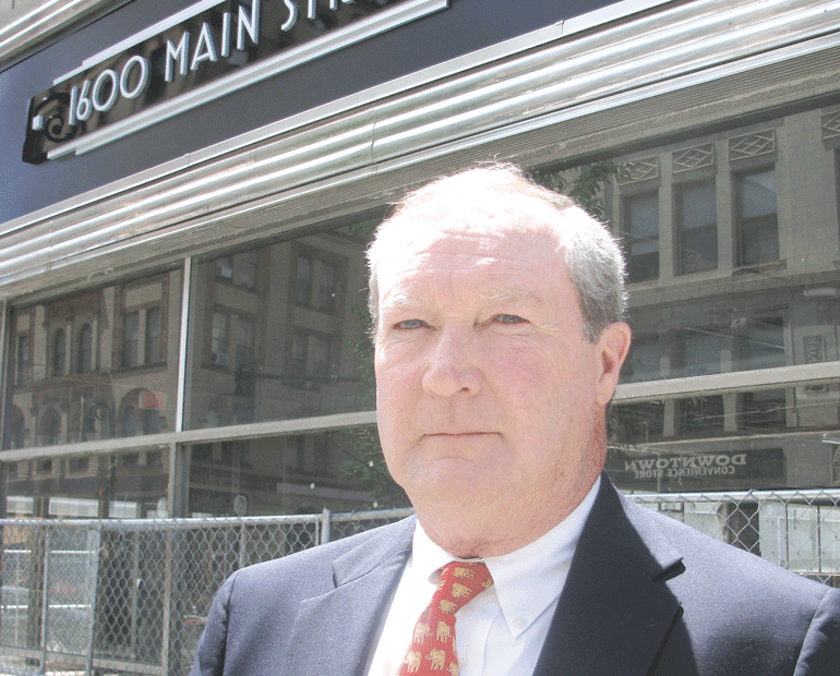Kevin Kennedy expects several proposals for what is now known as 1600 Main Street.